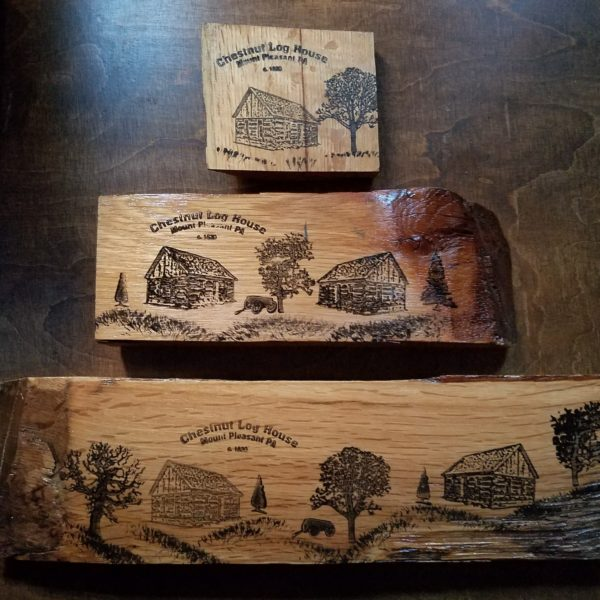 Chestnut Log House Wooden Chinks